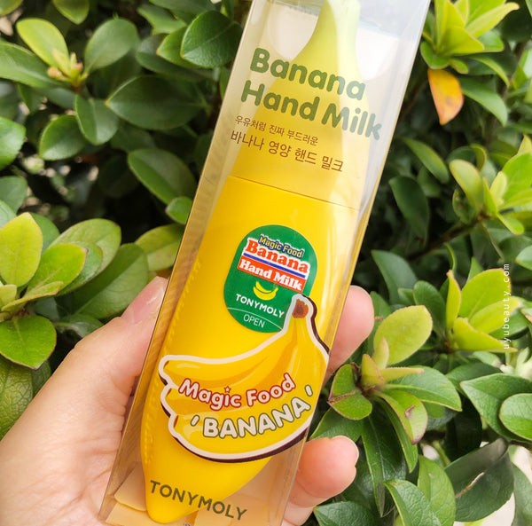 Magic Food Banana Hand Milk Cream