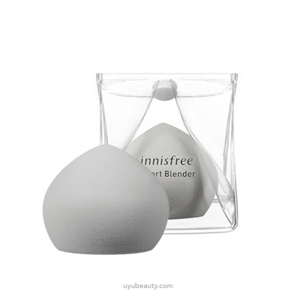 Innisfree Smart Mochi Blender + pouch antibacterial #Grey - uyubeauty