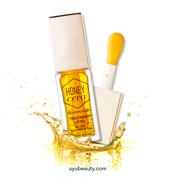 Honey Cera Treatment Lip Oil - uyubeauty
