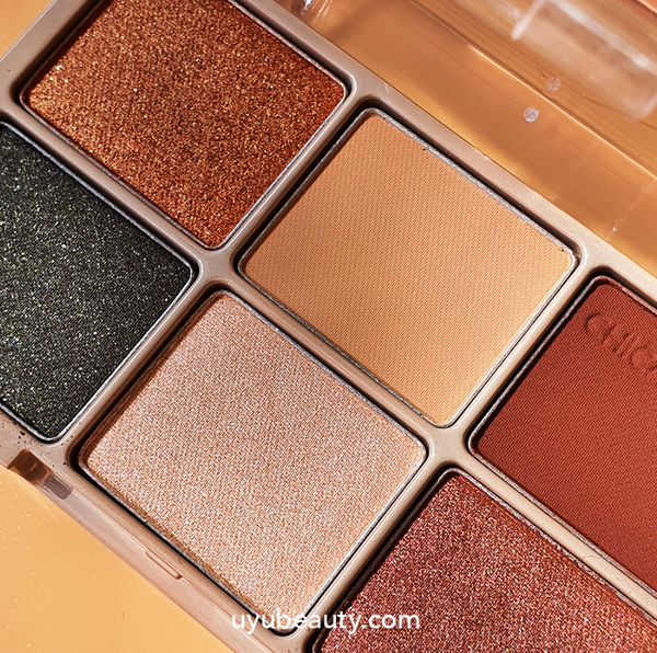 Chica y Chico One Shot Eye Palette #03 Brick Khaki - uyubeauty