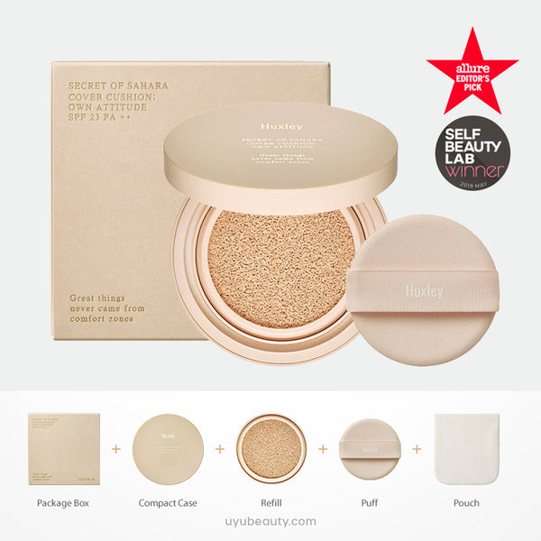 Cover Cushion; Own Attitude SPF23 PA++ / MaskProof
