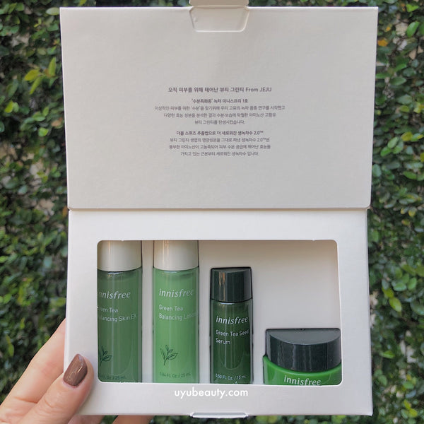 Green Tea Special Trial Kit - 2019 New