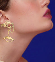 Load image into Gallery viewer, FACE EARRINGS