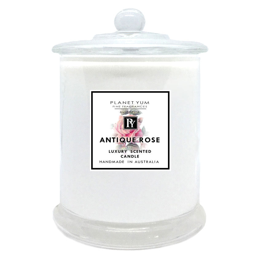 Antique Rose Luxury Scented Candle