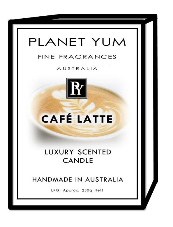 Cafe Latte Luxury Scented Candle