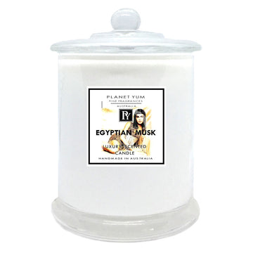 Egyptian Musk Luxury Scented Candle