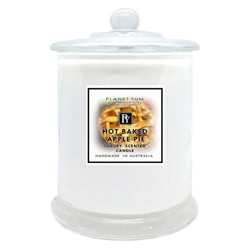 Hot Baked Apple Pie Luxury Scented Candle