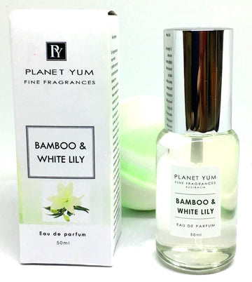 Bamboo & White Lily Perfume with free bath bomb