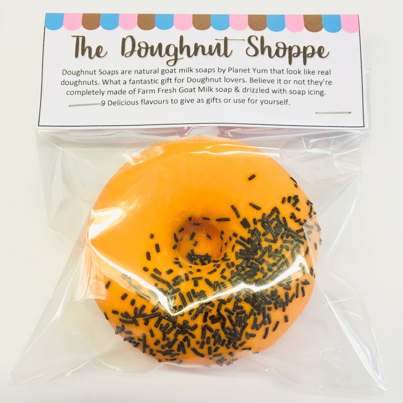 Orange Jaffa Doughnut Soap