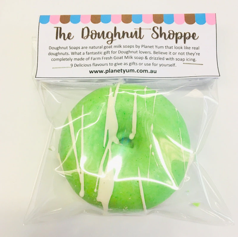 Lime Doughnut Soap