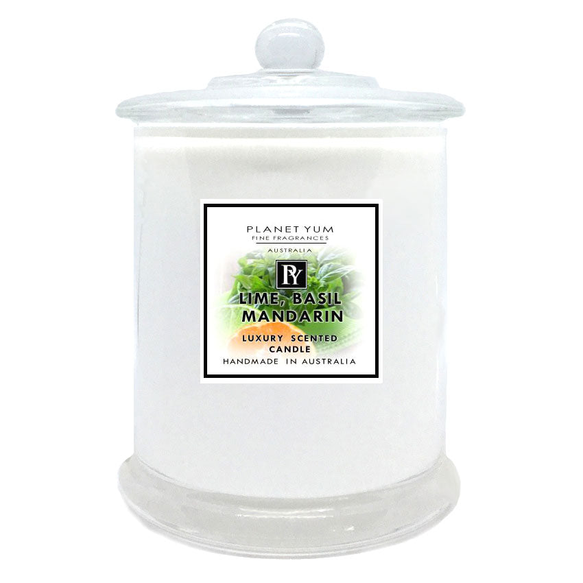 Lime Basil Mandarin Luxury Scented Candle