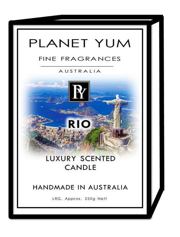 Rio Luxury Scented Candle