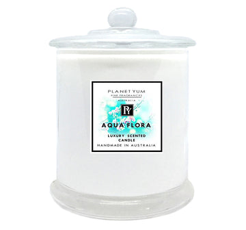 Aqua Flora Luxury Scented Candle