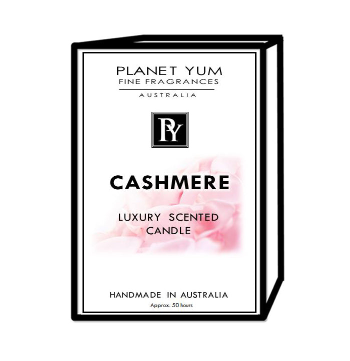 Cashmere Luxury Scented Candle