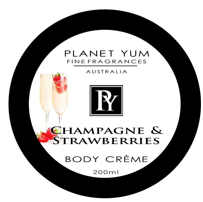 Body Butter Champagne & strawberries by Planet Yum