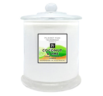 Coconut Lime Luxury Scented Candle