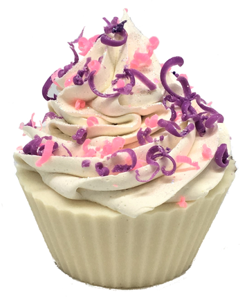 Fairy Dust Cupcake Soap