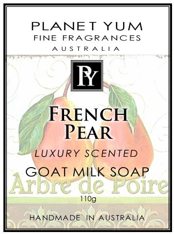 French Pear everyday Goat Milk Soap