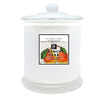 French Pear Luxury Scented Candle
