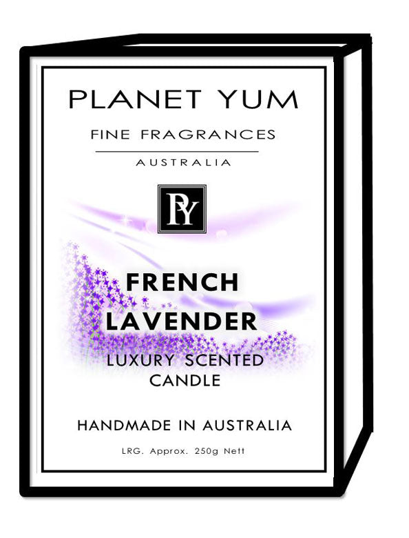 French Lavender Luxury Scented Candle
