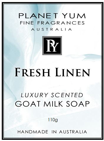 Fresh Linen Everyday Goat Milk Soap