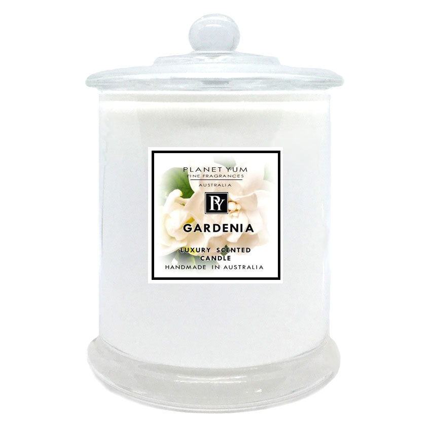 Gardenia Luxury Scented Candle