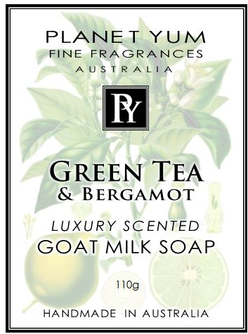 Bergamot & Green Tea Everyday Goat Milk Soap