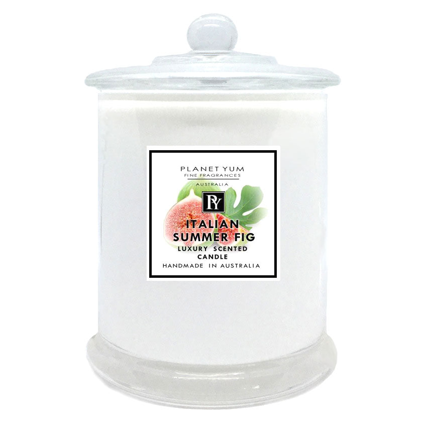 Italian Summer Fig Luxury Scented Candle
