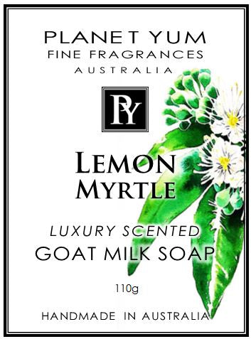 Lemon Myrtle Everyday Goat Milk Soap