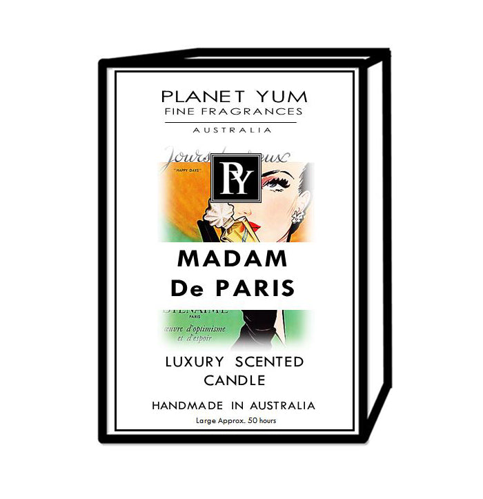 Madam de Paris Luxury Scented Candle