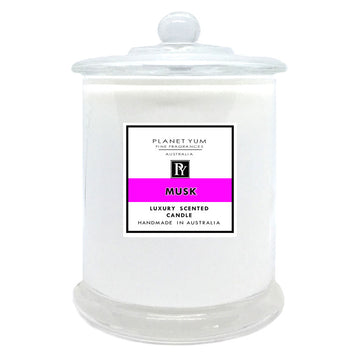 Musk Luxury Scented Candle