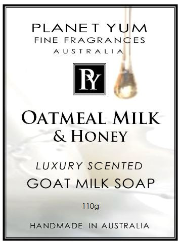 Oatmeal Milk & Honey Everyday Goat Milk Soap