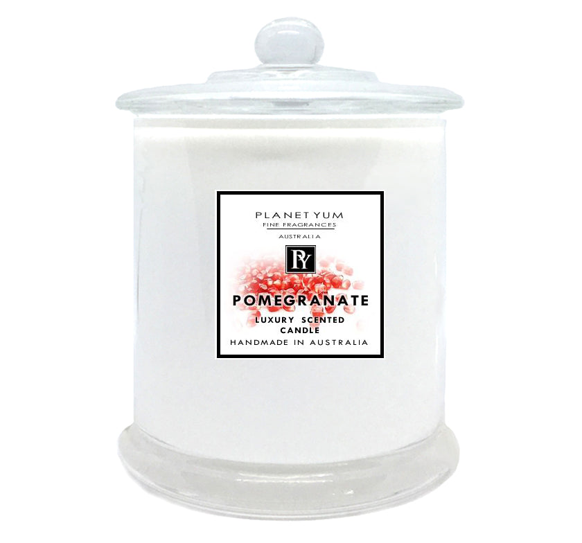 Pomegranate Luxury Scented Candle