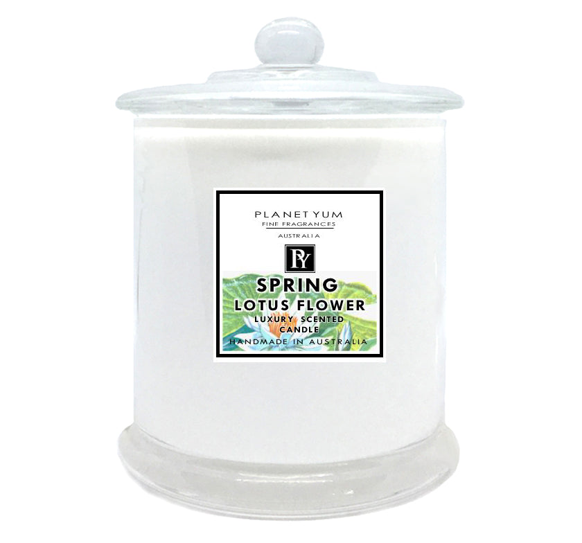 Spring Lotus Luxury Scented Candle