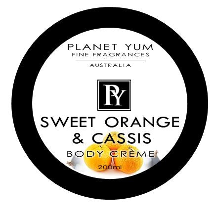 Sweet Orange & Cassis Body Butter