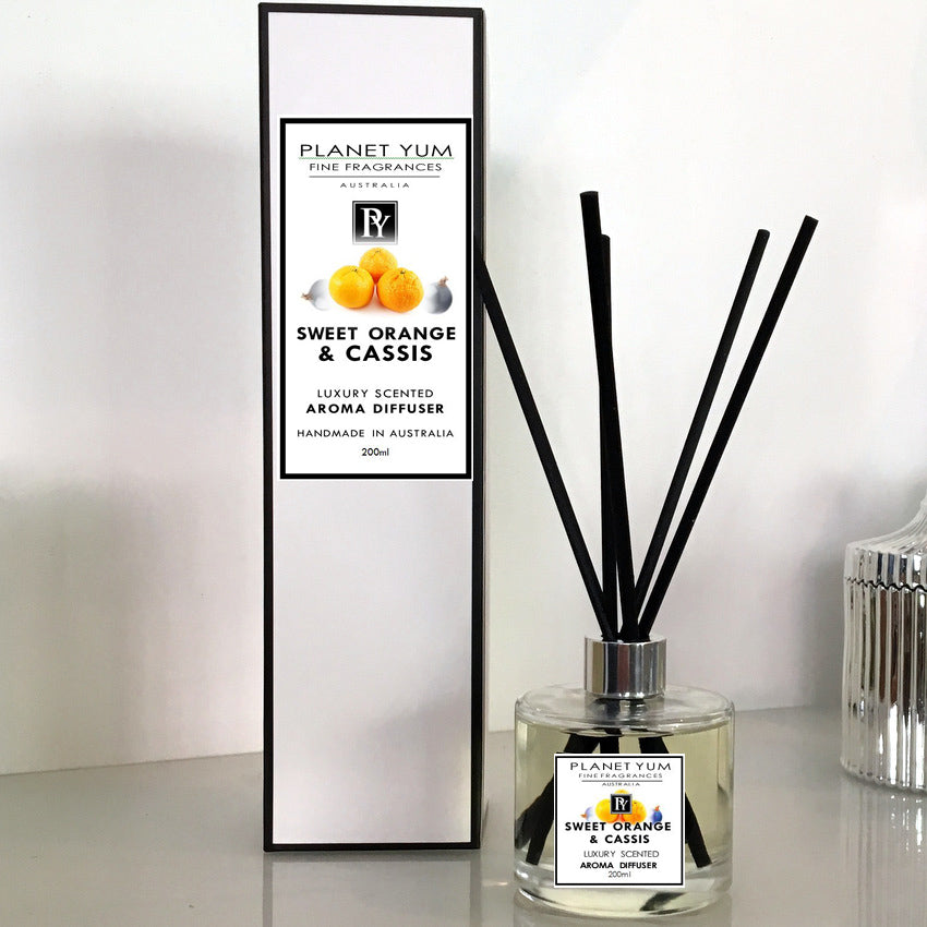 Sweet Orange & Cassis Luxury Scented Aroma Diffuser