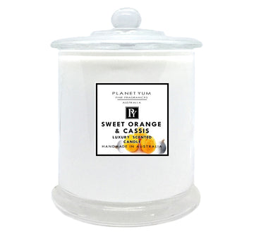 Sweet Orange & Cassis Luxury Scented Candle