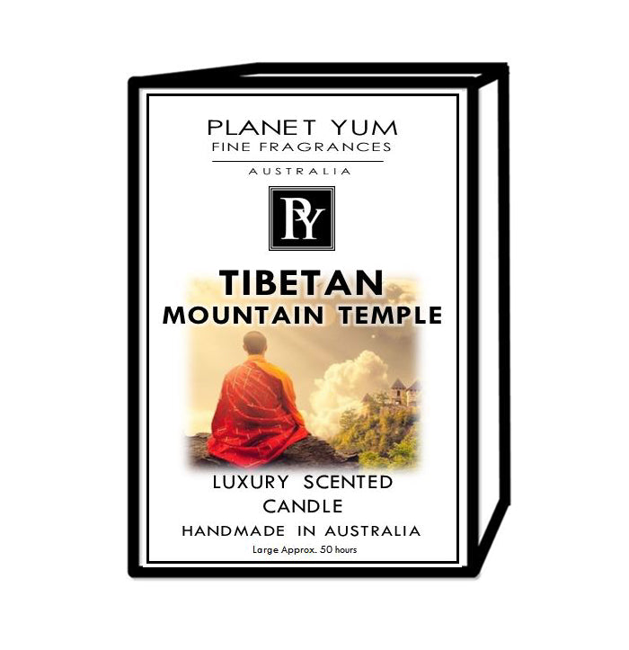 Tibetan Mountain Temple Luxury Scented Candle