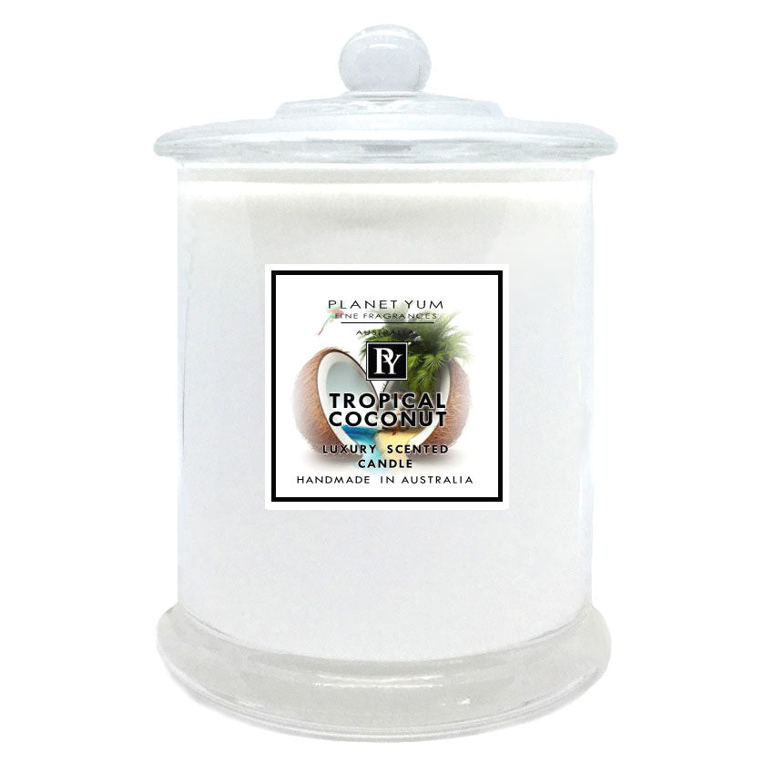 Tropical Coconut Luxury Scented Candle