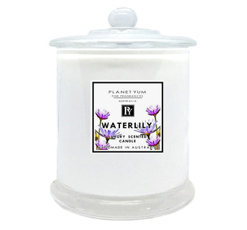 Waterlily Luxury Scented Candle