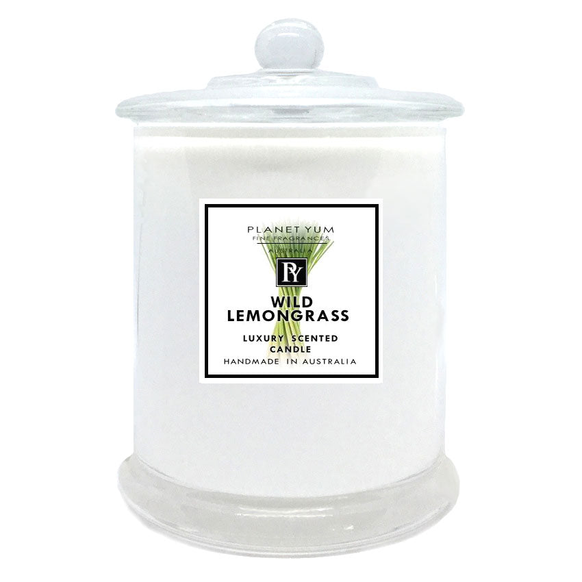 Wild Lemongrass Luxury Scented Candle