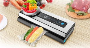 Food Vacuum Sealer (Dual Voltage 12V/240V) & Starter Pack