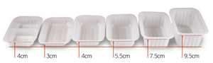 Containers (500ml) (2 Compartment)