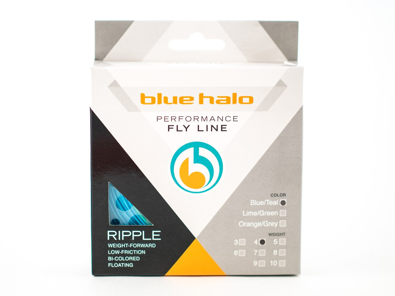 Blue Halo RIPPLE WF Fly Line - 4WT