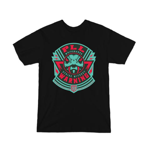 PLL Whipsnakes Strike Without Warning Logo Tee - Youth