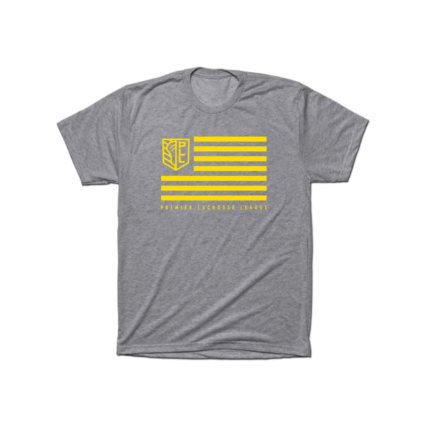 PLL Shield and Stripes Triblend Tee - Men's