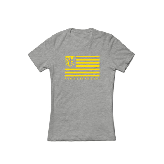 PLL Shield and Stripes Tee - Women's