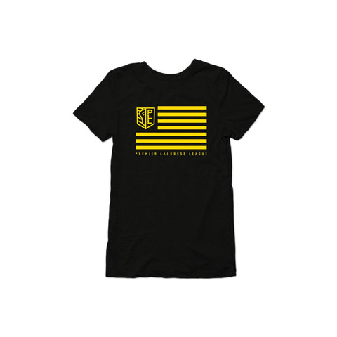 PLL Shield and Stripes Triblend Tee - Women's