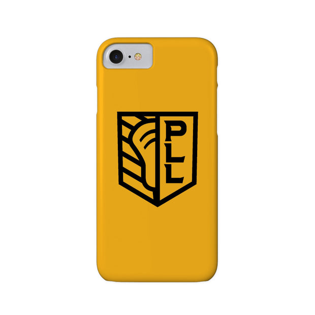 PLL Shield Yellow Phone Case
