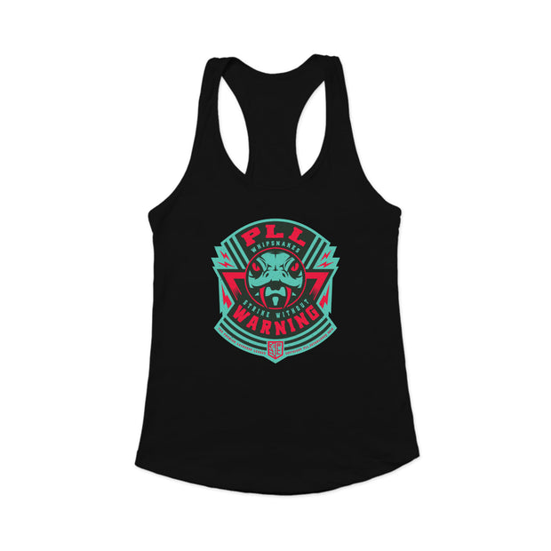 PLL Whipsnakes Strike Without Warning Racerback Tank Top - Women's